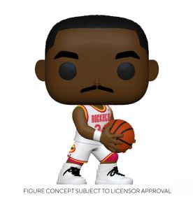 Funko Pop NBA  Legends - Hakeem Olajuwon (Rockets Home)