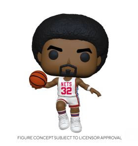 Funko Pop NBA  Legends - Julius Erving (Nets Home)