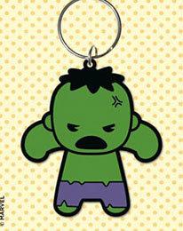 Portachiavi - Marvel - Hulk gomma 6cm