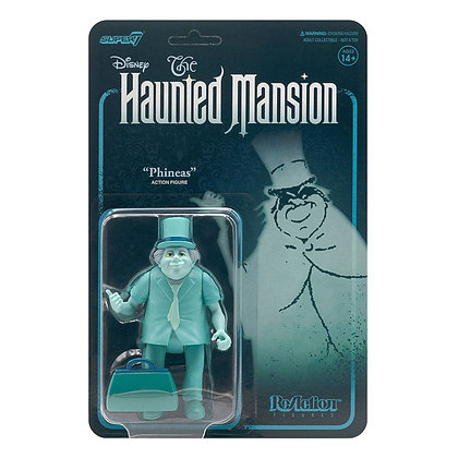 Super 7 - Haunted Mansion ReAction Action Figure Wave 1 Phineas 10 cm