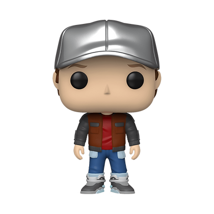 Funko Pop Back to the Future Marty in Future Outfit