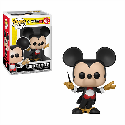 Funko Pop - Disney -Mickey's 90th - Conductor Mickey