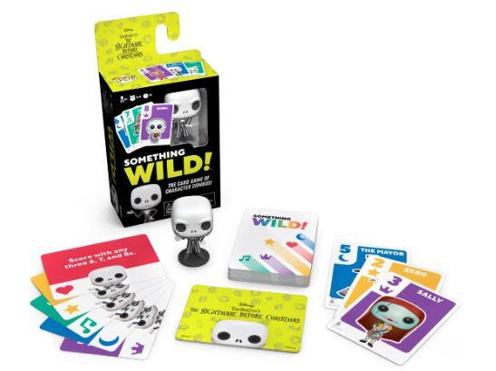 Funko Something Wild Card Game - Nightmare Before Christmas (ITALIANO)