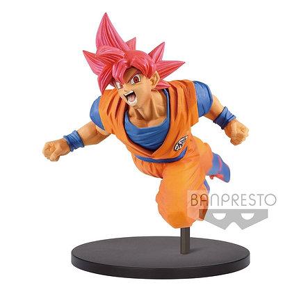 Statue - Dragonball Super Son Goku Fes PVC Statue Super Saiyan God Son Goku 20cm