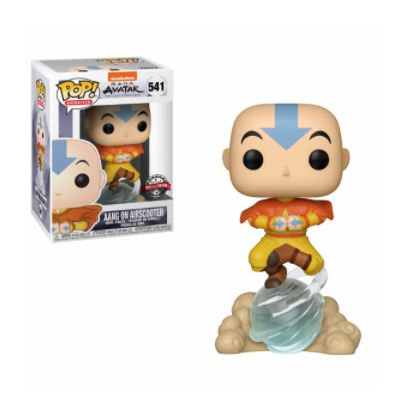Funko Pop - Avatar - Aang on Airscooter Exc.