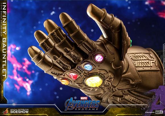 Hot Toys - Avengers Endgame Replica 1/4 Infinity Gauntlet 17 cm