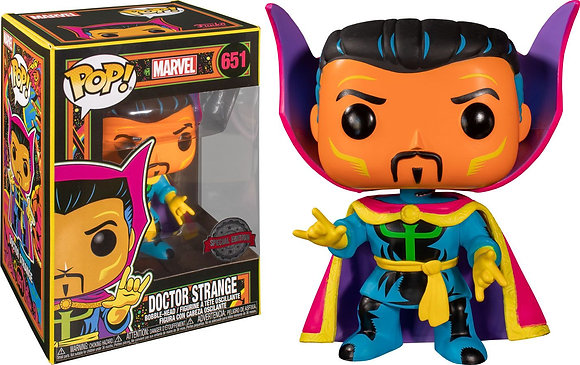 Funko Pop Marvel Black Light - Dt. Strange