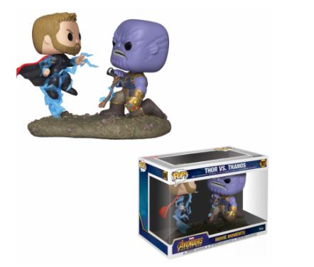 Funko Pop - Marvel - Movie Moments - Thor vs Thanos