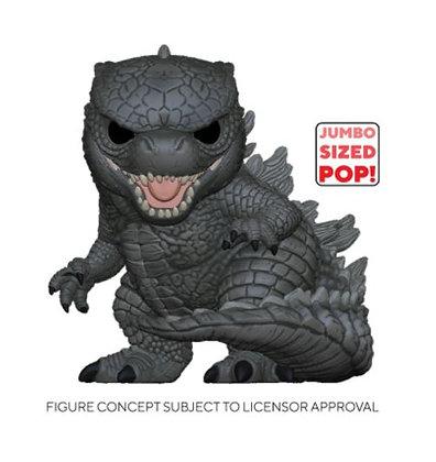 "Funko Pop Godzilla Vs Kong - 10"" Godzilla"