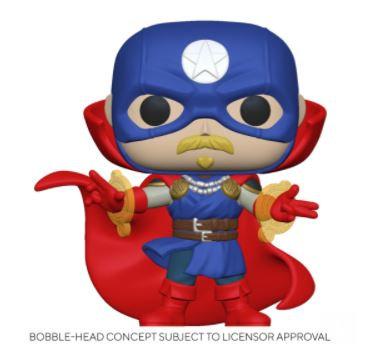 Funko Pop Marvel Infinity Warps - Soldier Supreme
