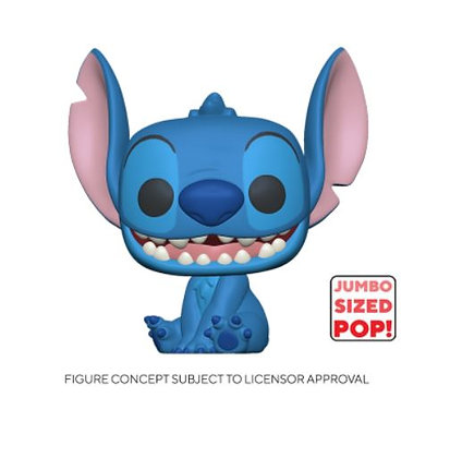 "Funko Pop Disney  Lilo & Stitch - 10"" Stitch"