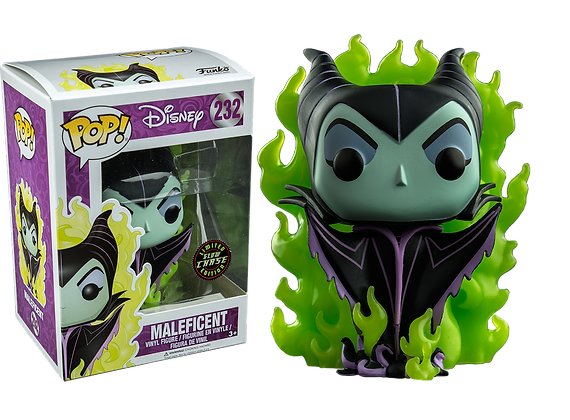Funko Pop - Disney - Maleficent (Green flames) Chase