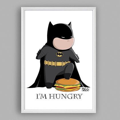 Art Poster Maccis - HungryFatMan by De Luca Matteo