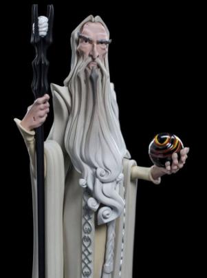 Statue - Lord of the Rings - Mini Epics Vinyl Figure Saruman 17 cm