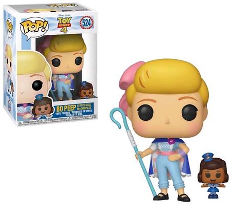 Funko Pop - Disney - Toy Story 4 - Bo Peep e Giggle McDimples