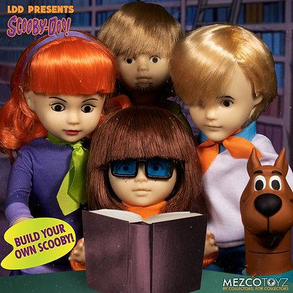Scooby-Doo & Mystery Inc Build A Figure Living Dead Dolls 25 cm (SET 4 PEZZI)