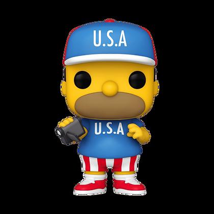Funko Pop  Simpsons USA Homer