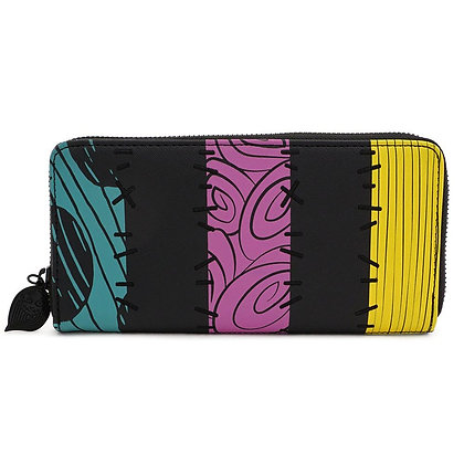 Loungefly - Nightmare before Christmas Wallet Striped (Portafoglio)