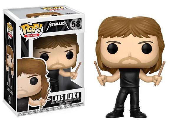 Funko Pop - Rocks - Metallica Lars Ulrich POP!