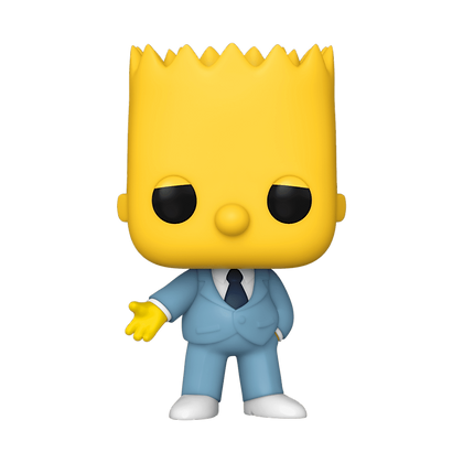 Funko Pop  Simpsons Mafia Bart