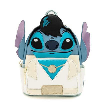 Loungefly X Disney Lilo and Stitch Elvis Stitch Cosplay mini Backpack