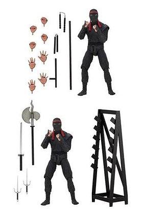 Teenage Mutant Ninja Turtles  2-Pack Foot Soldiers with Weapons Rack 18 cm