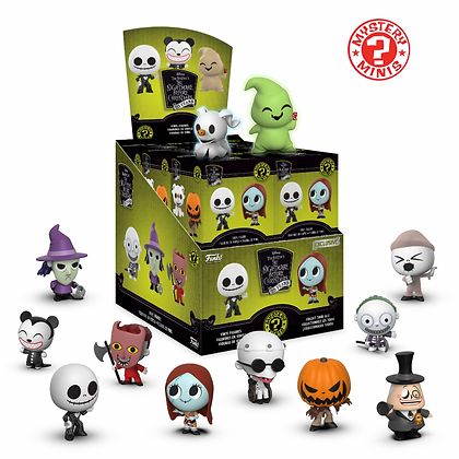 Funko - Disney - Mystery Minis Exc. Nightmare before Christmas