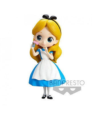Q Posket - Disney - Alice Thinking Time Normal Color Ver. 14 cm