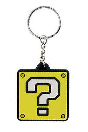 Portachiavi - Nintendo - Blocco ? gomma 5 cm