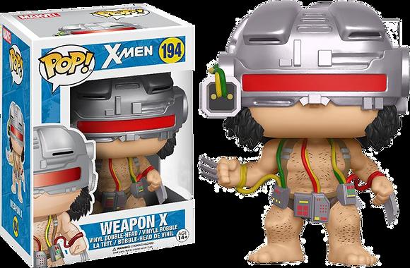 Funko Pop - Marvel - Weapon X Wolverine limited - No Bollino Pop!
