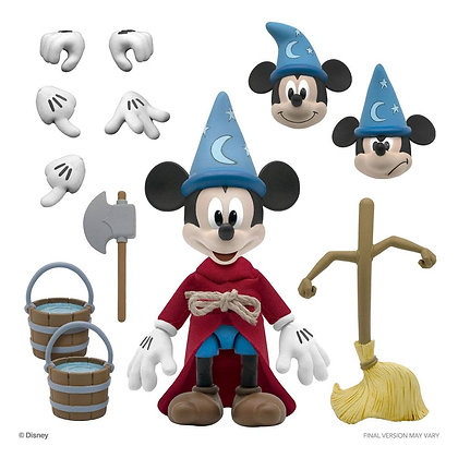 Disney Ultimates Action Figure Sorcerer's Apprentice Mickey Mouse 18 cm