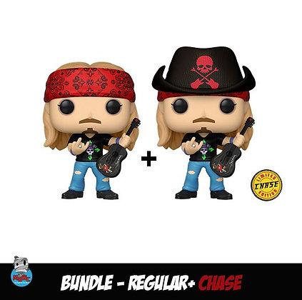 Funko Pop Rocks - Bret Michaels ( Bundle Regular + Chase )