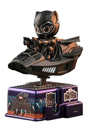 Black Panther CosRider Mini Figure with Sound & Light Up Black Panther 15 cm