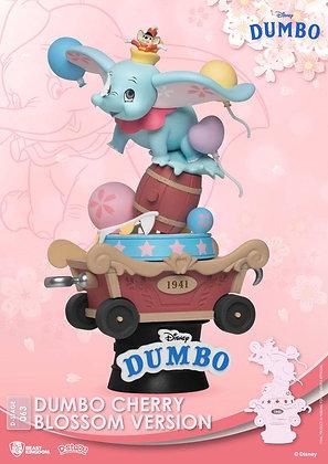 Disney D-Stage PVC Diorama Dumbo Cherry Blossom Version 15 cm