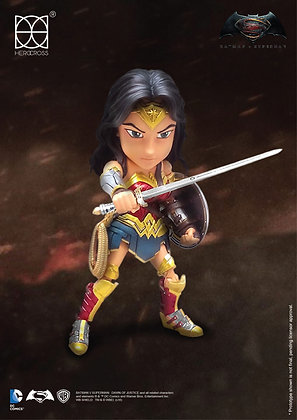 Action Figure - Dc Comics - Batman v Superman Hybrid Metal Wonder Woman 14 cm AF