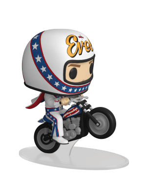 Funko Pop Rides Evel Knievel on Motorcycle