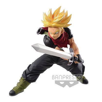 Statue - Super Dragon Ball Heros - Trascendence Art - S. S. Future Trunks 14cm