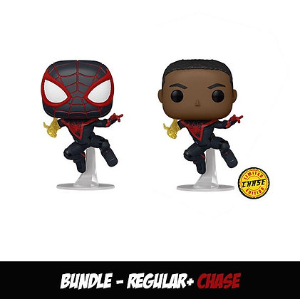 Funko Pop  - Bundle Regular + Chase Miles Morales (Classic Suit)