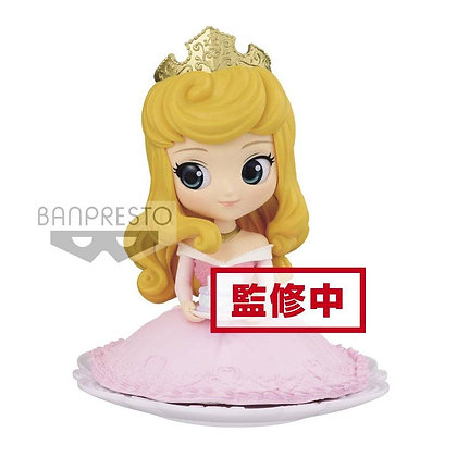 Q Posket - Disney -  Princess Aurora Pastel Color Ver. 9 cm