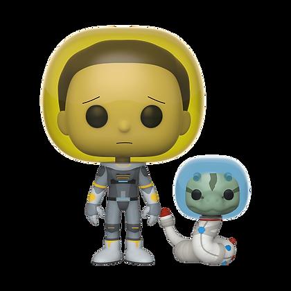 Funko Pop - Animation - Rick & Morty - Space Suit Morty w/Snake