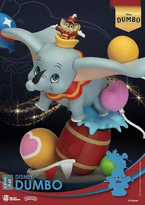 Disney Classic Animation Series D-Stage PVC Diorama Dumbo 15 cm