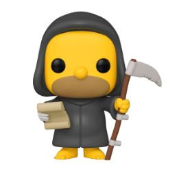 Funko Pop  Simpsons  Grim Reaper Homer