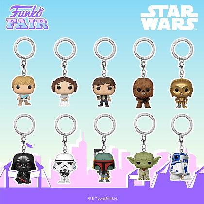 Funko Keychain Star Wars (Scegli il tuo preferito)