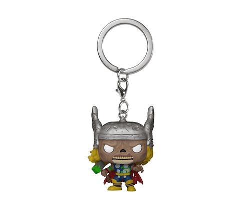 Funko Keychain Marvel Zombies - Thor
