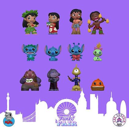 Funko Mystery Minis Disney  Lilo & Stitch