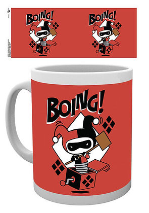 Tazze e Bicchieri -Dc Comics - Harley Quinn Boing Rossa chibi