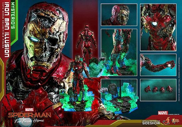 Spider-Man: Far From Home MMS PVC 1/6 Mysterio's Iron Man Illusion 32 cm