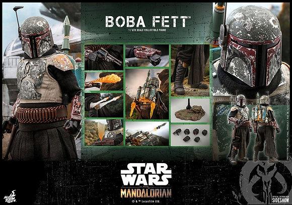 Hot Toys Star Wars The Mandalorian  1/6 Boba Fett 30 cm (RATE)