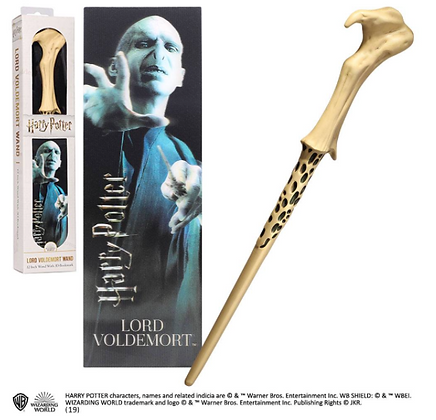 Bacchette - Harry Potter - PVC Wand Replica Lord Voldemort  30 cm