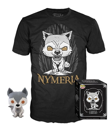 Funko pop Game of Thrones Pop & Tee Box Nymeria